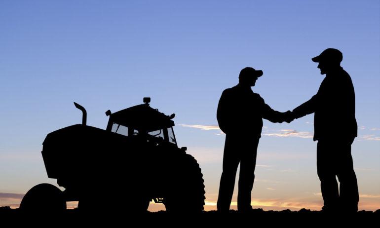 farmers silhouette