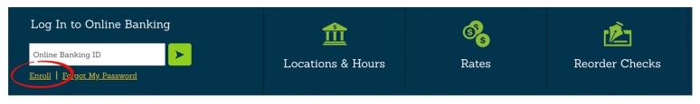 online banking enroll